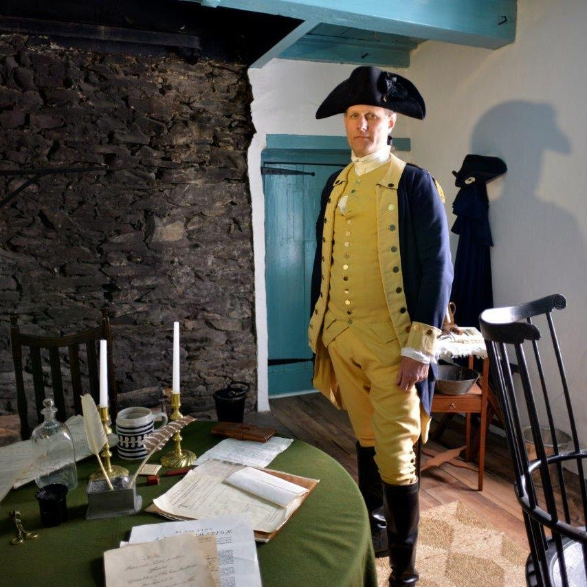 Celebrate Presidents Day with historic re-enactments, museum tours and more