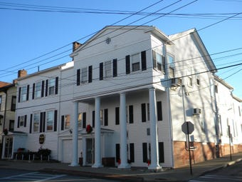 Matthew Vassar Jr. and John Guy Vassar Jr. once lived in a home that is today's Michael Torsone Memorial Funeral Home.