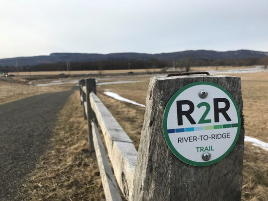 The River-to-Ridge Trail in New Paltz offers an opportunity to exercise that is less rigorous than a mountain hike.