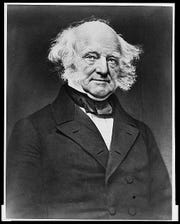 U.S. president Martin Van Buren was born and raised in Columbia County's Kinderhook.