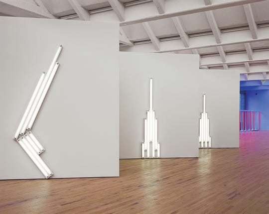 Dia: Beacon, the contemporary art museum in Beacon, can help you combat cabin fever during winter. Shown here is: Dan Flavin, installation view, Dia:Beacon. © Stephen Flavin/Artists Right Society (ARS), New York, Photo: Bill Jacobson Studio, New York. Courtesy Dia Art Foundation.
