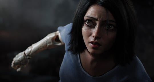 """""""Alita: Battle Angel"""" opens Wednesday, Feb. 13, at Regal West Manchester Stadium 13, Frank Theatres Queensgate Stadium13 and R/C Hanover Movies."""