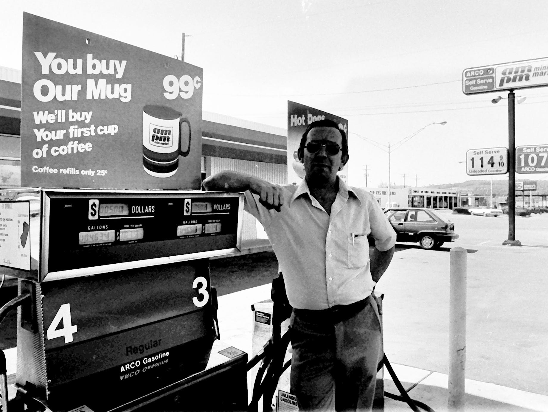 In 1985, this man was pumping gas for $1.07 at an ARCO station in Springettsbury Township.