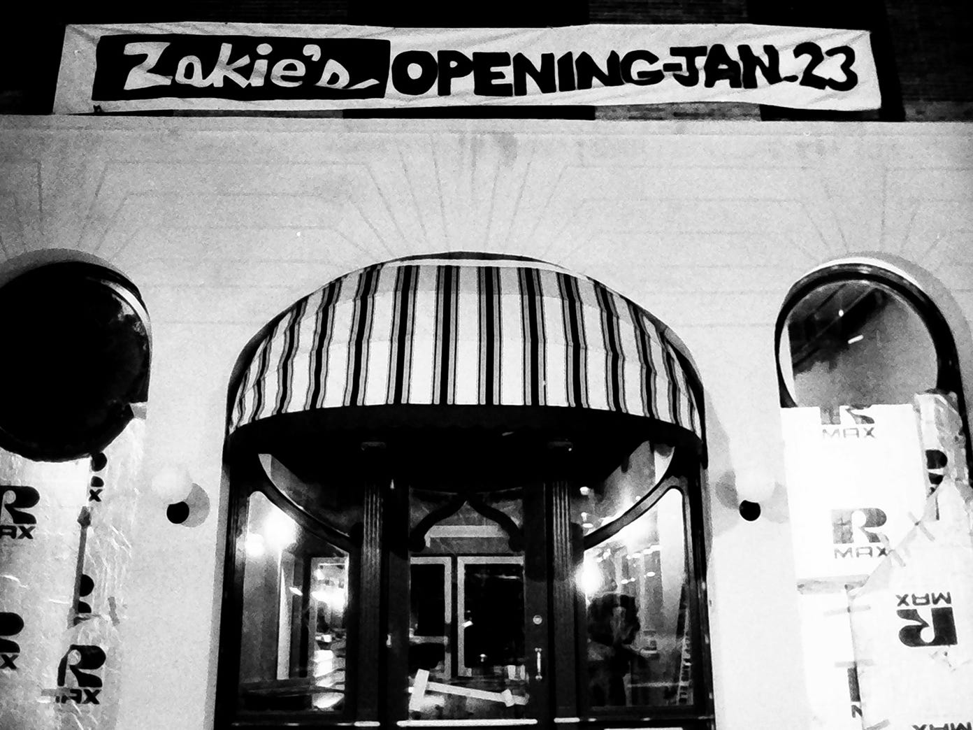 Zakie's night club at 25 W. Market St. opened on Jan. 23, 1985. The project was an early redevelopment project and today is the home of Fig and Barrel.