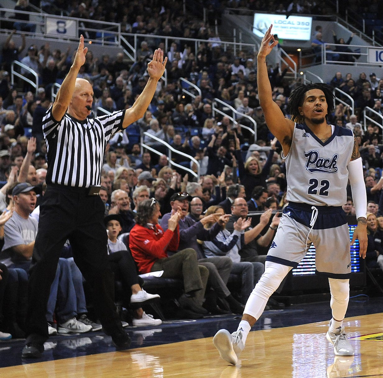 Nevada basketball drops to seventh in AP Top 25