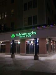Schramrocks Irish Pub at Park Point at RIT in Henrietta.
