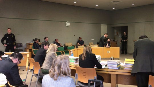 Michael Patrick O'Connell on Monday was in Shasta County Superior Court for his arraignment. He is accused in the slaying of Adam Russell Mancebo.