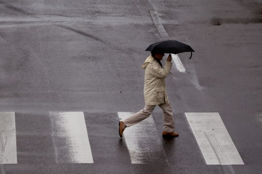 More rain is expected to hit Oregon on Tuesday.
