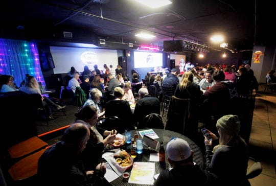 Approximately $1,500 was raised for Harmony House through Drag Queen Charity Bingo at Fuzion.