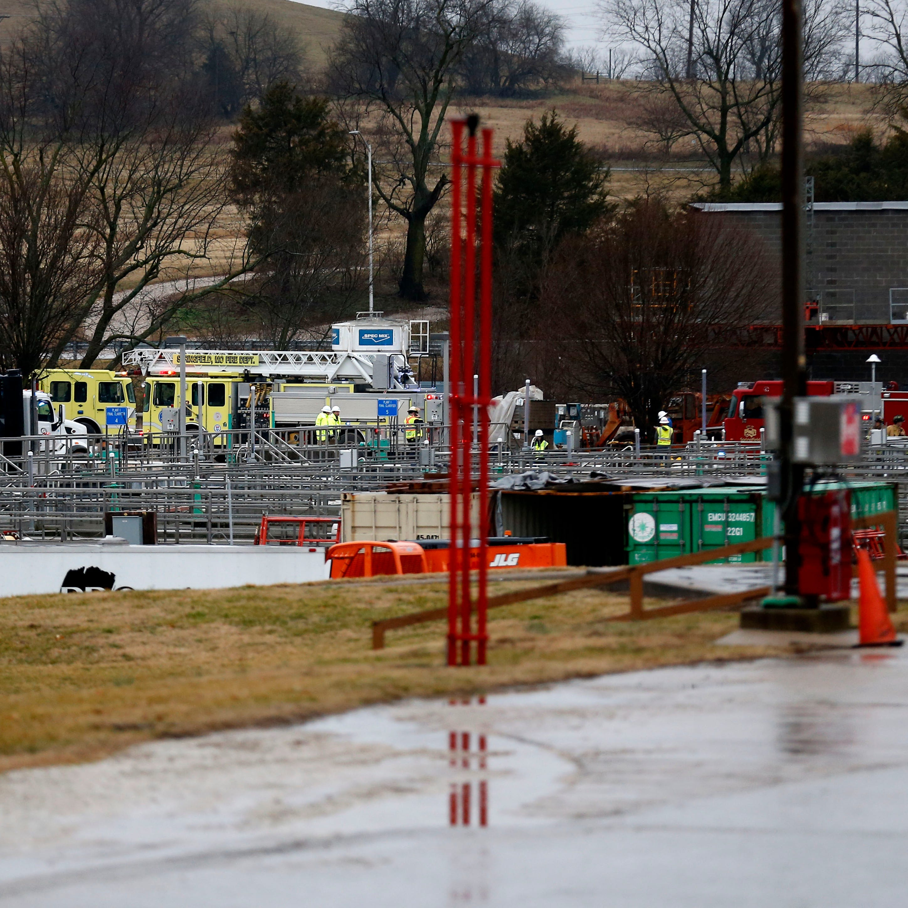 2 workers injured after methane burst at Springfield Wastewater Treatment Facility