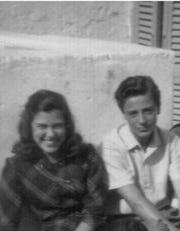 Marilena Lerario and Aldo Sportelli