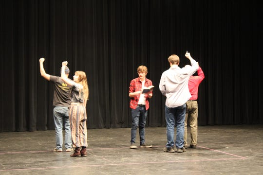 """St. Cloud State University and GREAT Theatre are partnering to perform""""The Curious Incident of the Dog in the Nighttime."""""""
