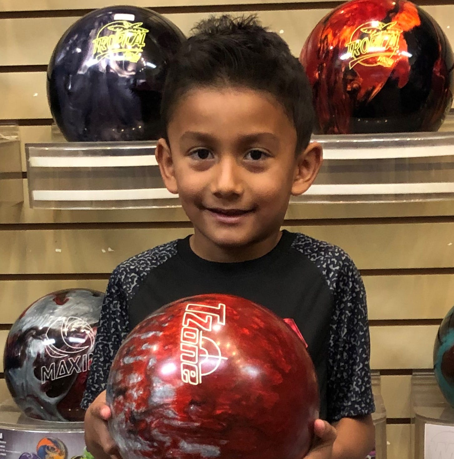 Six-year-old's explosive game turns heads at Virgin River Bowling Center