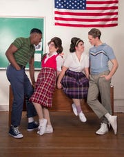 "Avianna Tato, Lannie Rubio, Aidan Neal and Aaron McKenzie star in the School of Theatre at Florida State's production of ""Hairspray."""