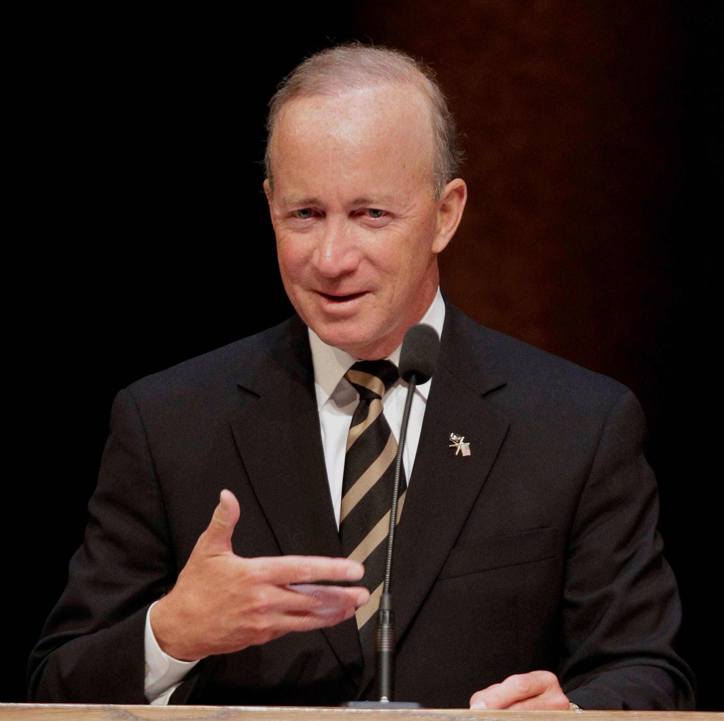 Former Indiana Gov. Mitch Daniels sees good future in higher education, but only if ...