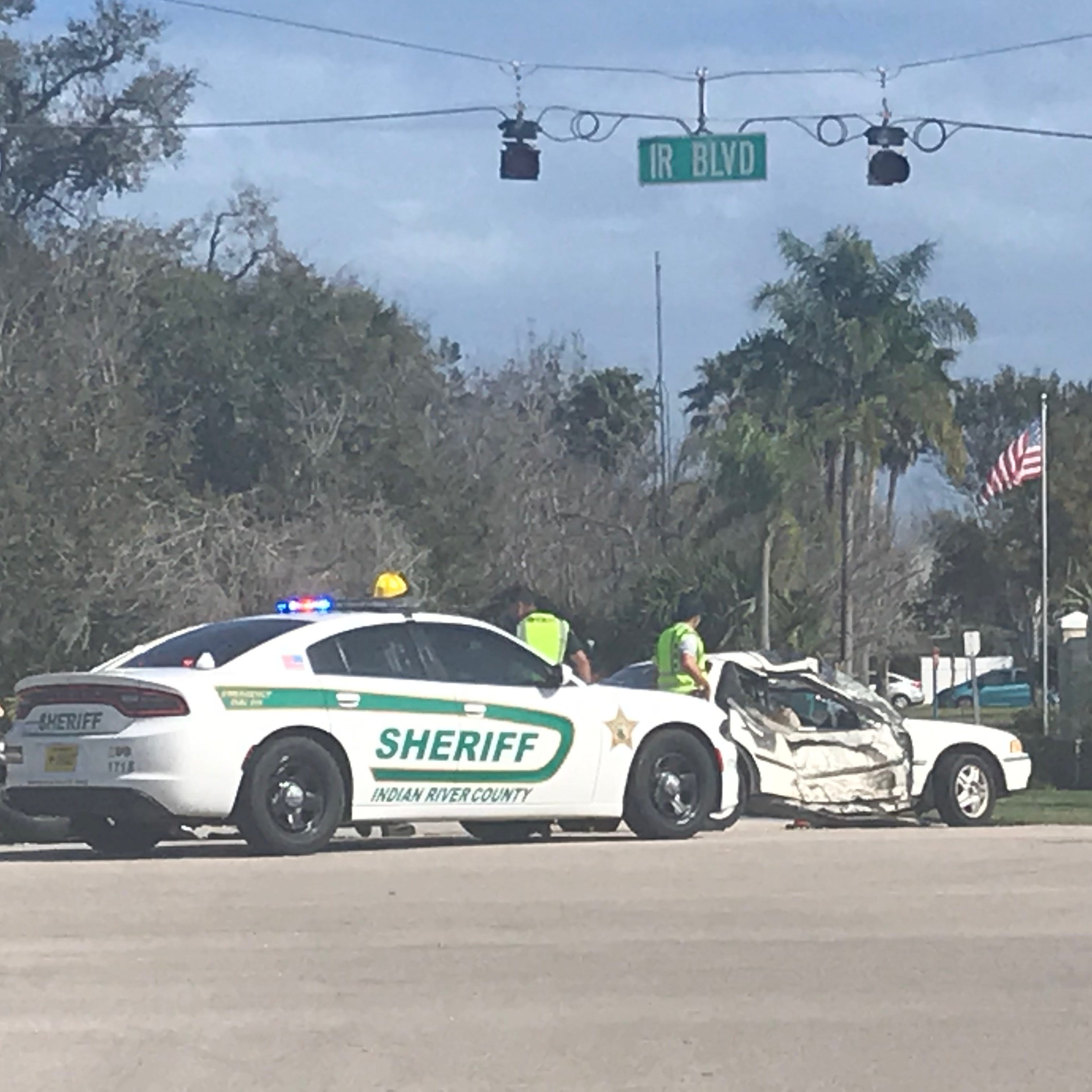 Motorcyclist seriously injured after crash on Indian River Boulevard south of Vero Beach