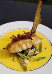 Chef Peralta's winning dish at the 2019 Stuart Chopped competition.