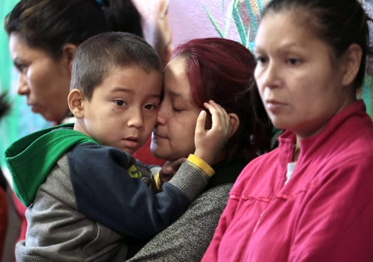 Annunciation House held a news conference Feb. 11, 2019, ahead of President Donald Trump's visit to El Paso. The center's director, Ruben Garcia, condemned the president's description of the refugees as dangerous.