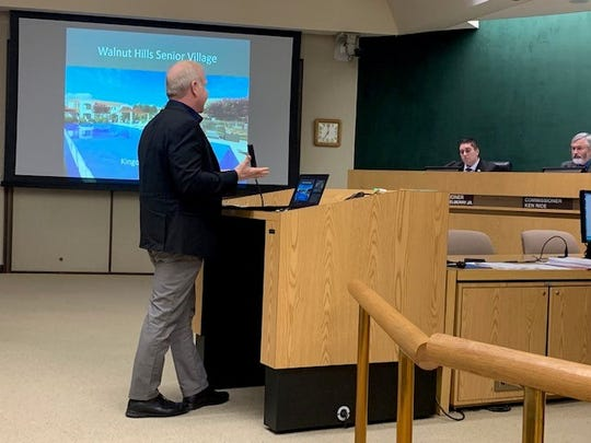 Developer Mike Rovner told the Simi Valley Planning Commission there are no active faults on the planned site of a two-story, 51-unit senior townhome complex he wants to build.
