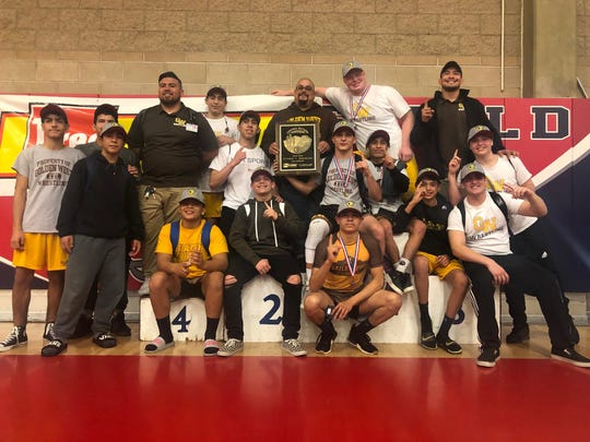 The Golden West Trailblazers' boys wrestling team captured the 2019 Central Section Division V championship on Saturday at East Bakersfield High School.