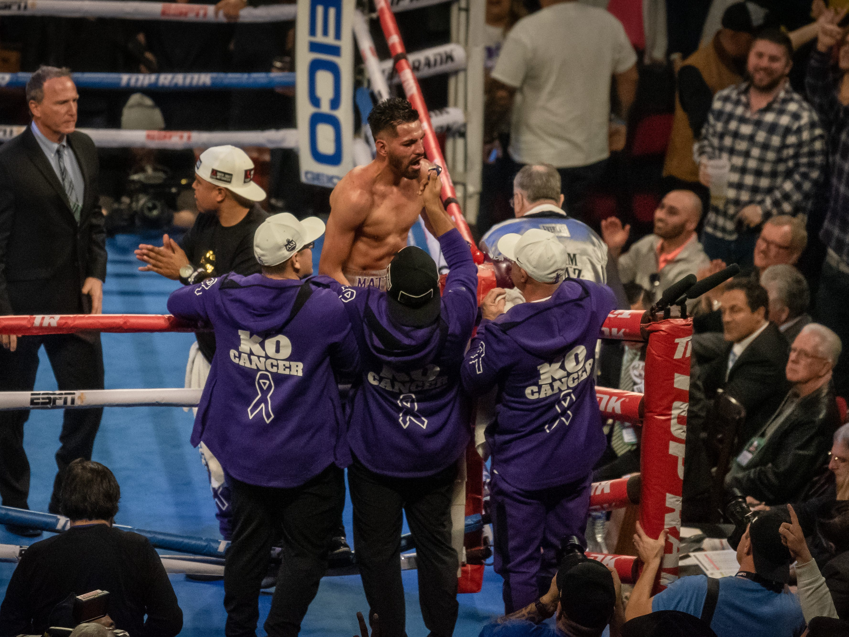 Jose Ramirez (24-0, 16 KOs) claimed victory over Jose Zepeda (30-2, 25 KOs) on Sunday at Fresno's Save Mart Arena. Ramirez, of Avenal, won in a majority decision, with judge Ray Danseco scoring it even at 114-114.