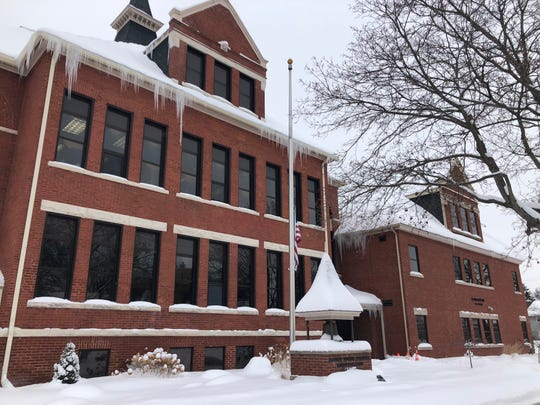 The Wausau School District Administration building on Feb. 11, 2019.