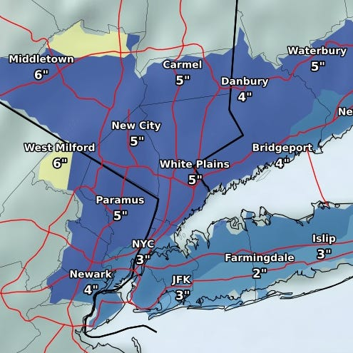 Weather: Snow, sleet, ice to snarl Tuesday commutes