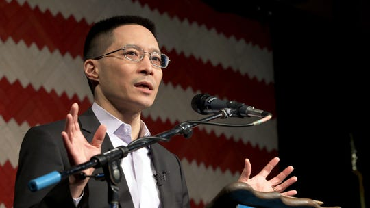 """Eric Liu is the founder and CEO of Seattle's Citizen University. He is featured in the 2018 PBS documentary """"American Creed,"""" which will serve as inspiration for a six-part series of events at Nyack Public Library between February and August. The film considers the idea that, even in a politically divided age, there are things that unite all Americans, an American creed."""