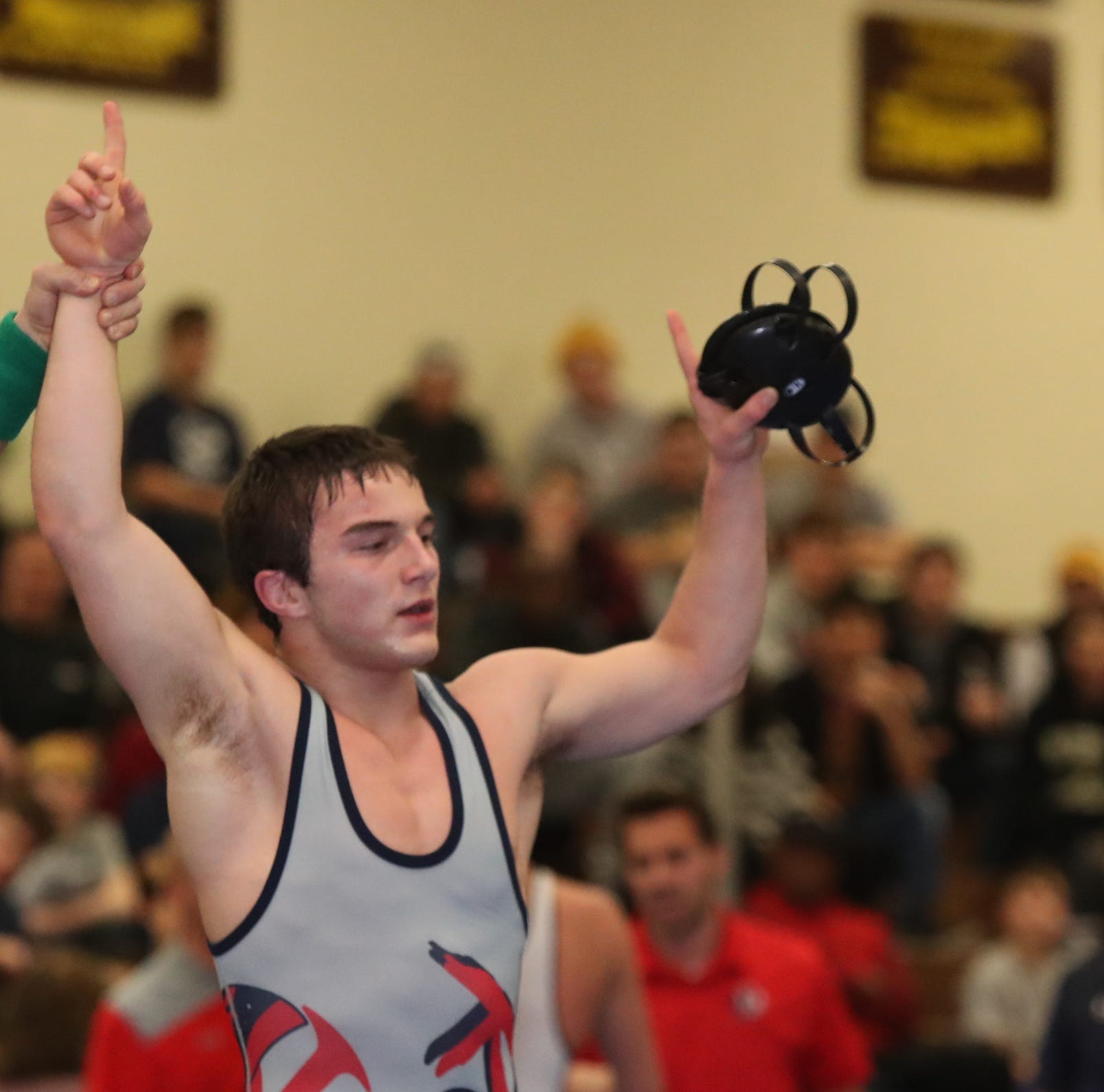 Carroll, Robin, Wills collect Section 1 wrestling titles