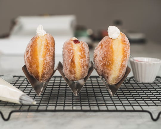 Doughnuts from White Plains-based MAD Donuts are hand-cut and handmade with fresh, natural ingredients.