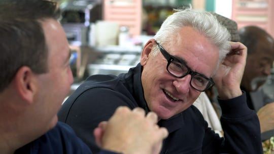 """Chicago Cubs' manager Joe Maddon visits his hometown of Hazleton, Pennsylvania, where he founded the community-based Hazleton Integration Project to unite the people of different cultures who now call Hazleton home. Maddon is featured in """"American Creed,"""" the 2018 PBS documentary that will be the focus of several Nyack Public Library events between February and August."""