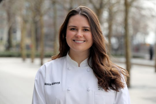 Monica Malarczyk, 25, of Hastings-on-Hudson, photographed at Battery Park City in Manhattan Feb. 10, 2019, where she's a student at the Institute of Culinary Education.
