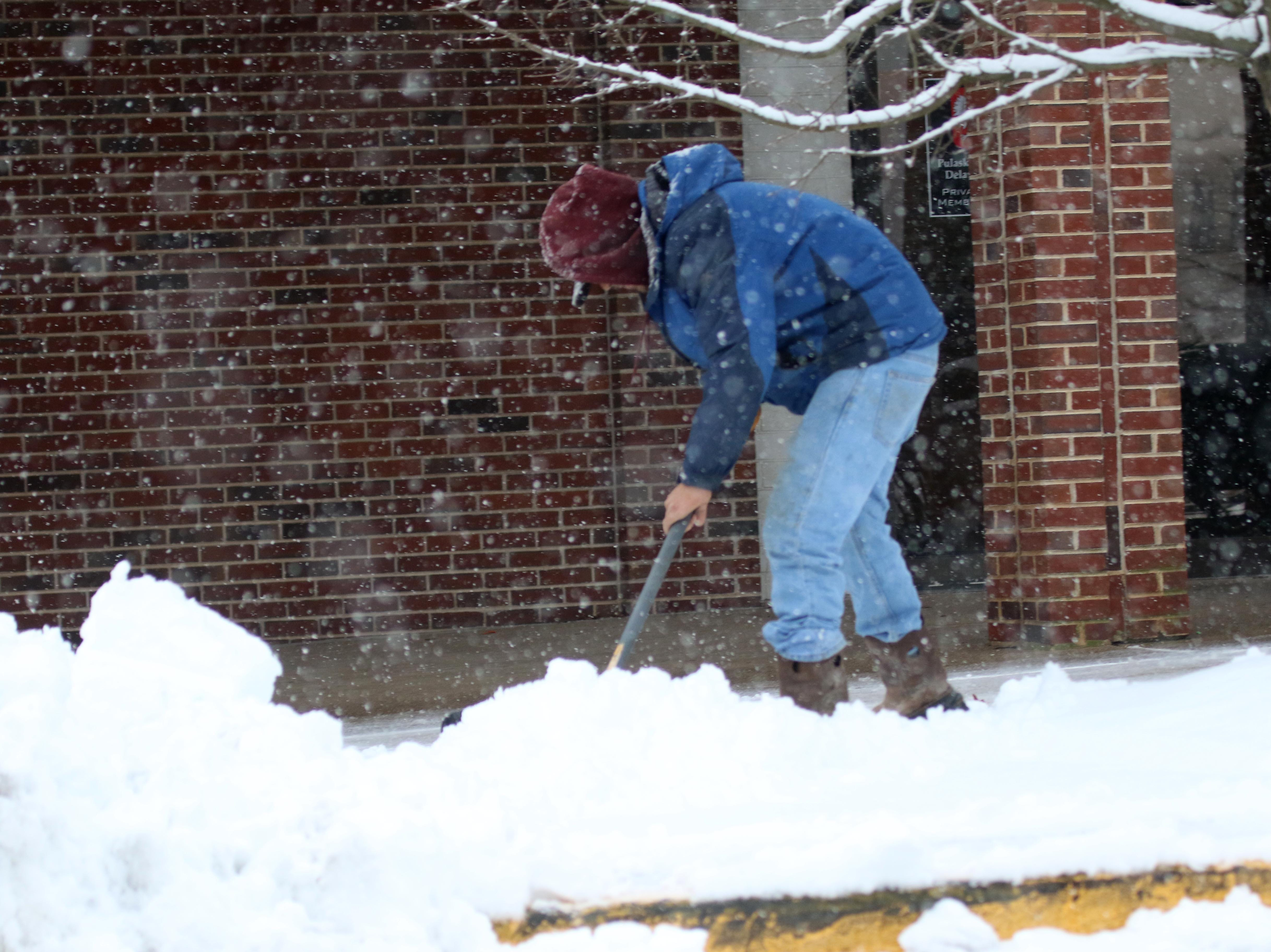 Three to 5 inches of snow expected for New Castle County on Wednesday