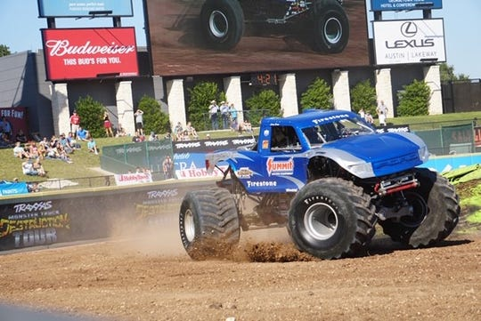 Monster trucks are coming to town, and they will do more than just crunch small hatchbacks, when the Traxxas Monster Truck Tour comes 1:30 and 7:30 p.m. Saturday Feb. 23 to the Kay Yeager Coliseum.