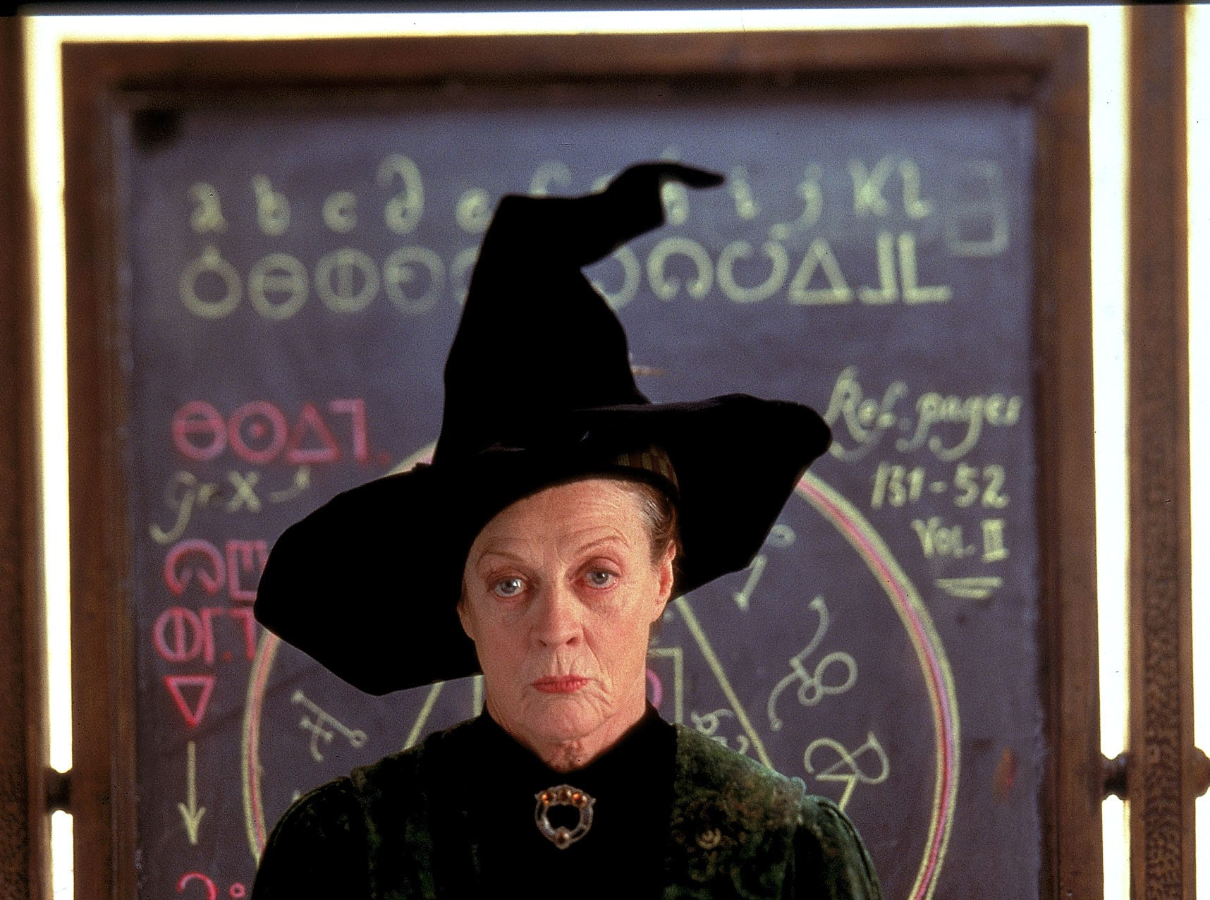 Dame Maggie Smith as Professor McGonagall