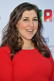 "Mayim Bialik, in L.A. in June, plays Amy Farrah Fowler on ""The Big Bang Theory."""