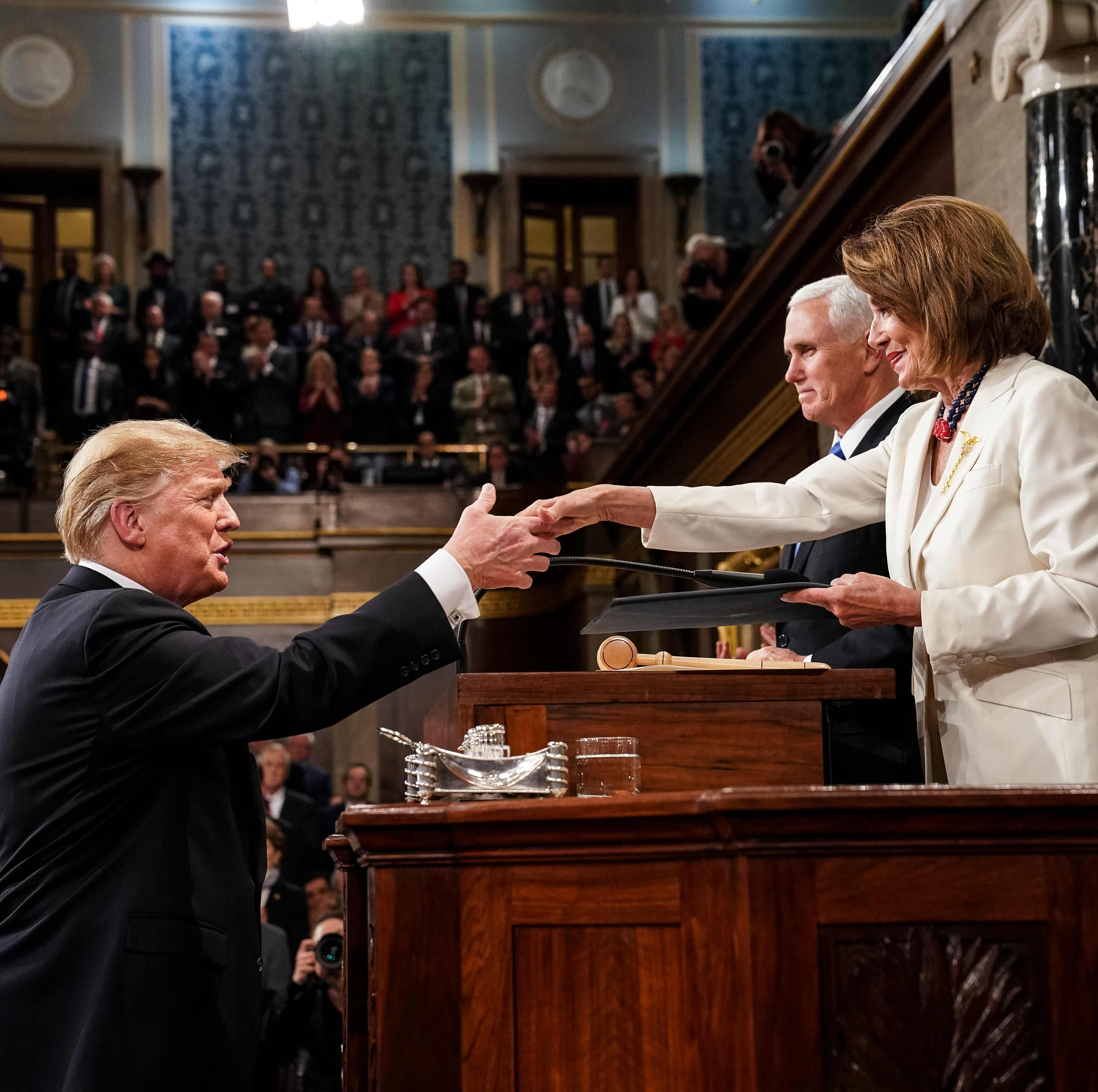 President Donald Trump and Speaker of the House...