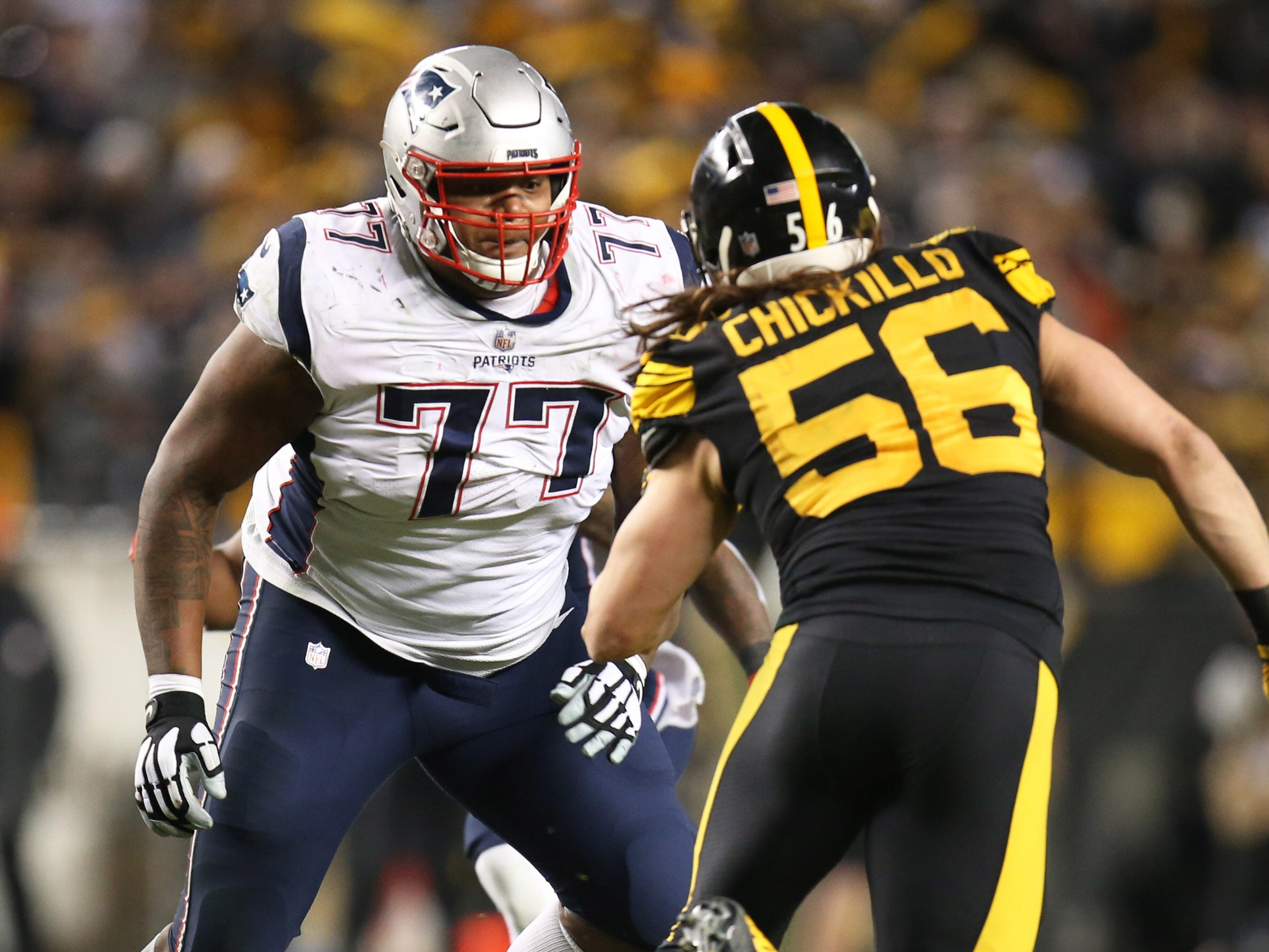 14. Trent Brown, OT, Patriots: Agreed to deal with Raiders