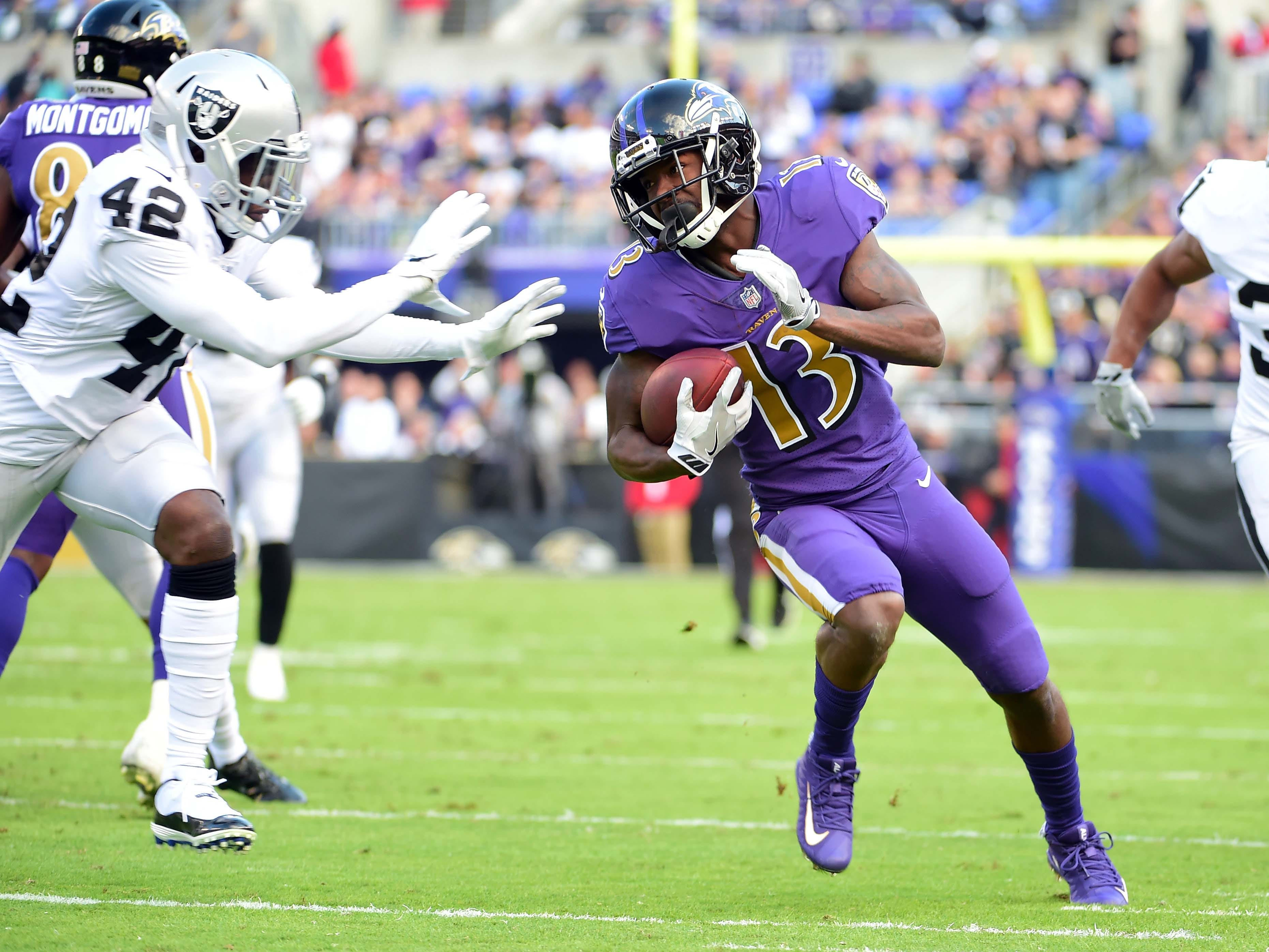 NR: John Brown, WR, Ravens: Agreed to deal with Bills