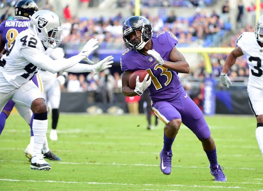 NR: John Brown, WR, Ravens
