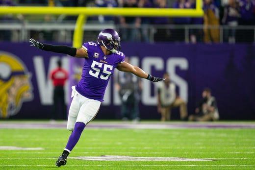 NR: Anthony Barr, LB, Vikings