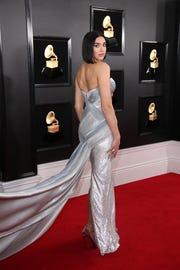 Dua Lipa won best new artist at the 61st Grammys.