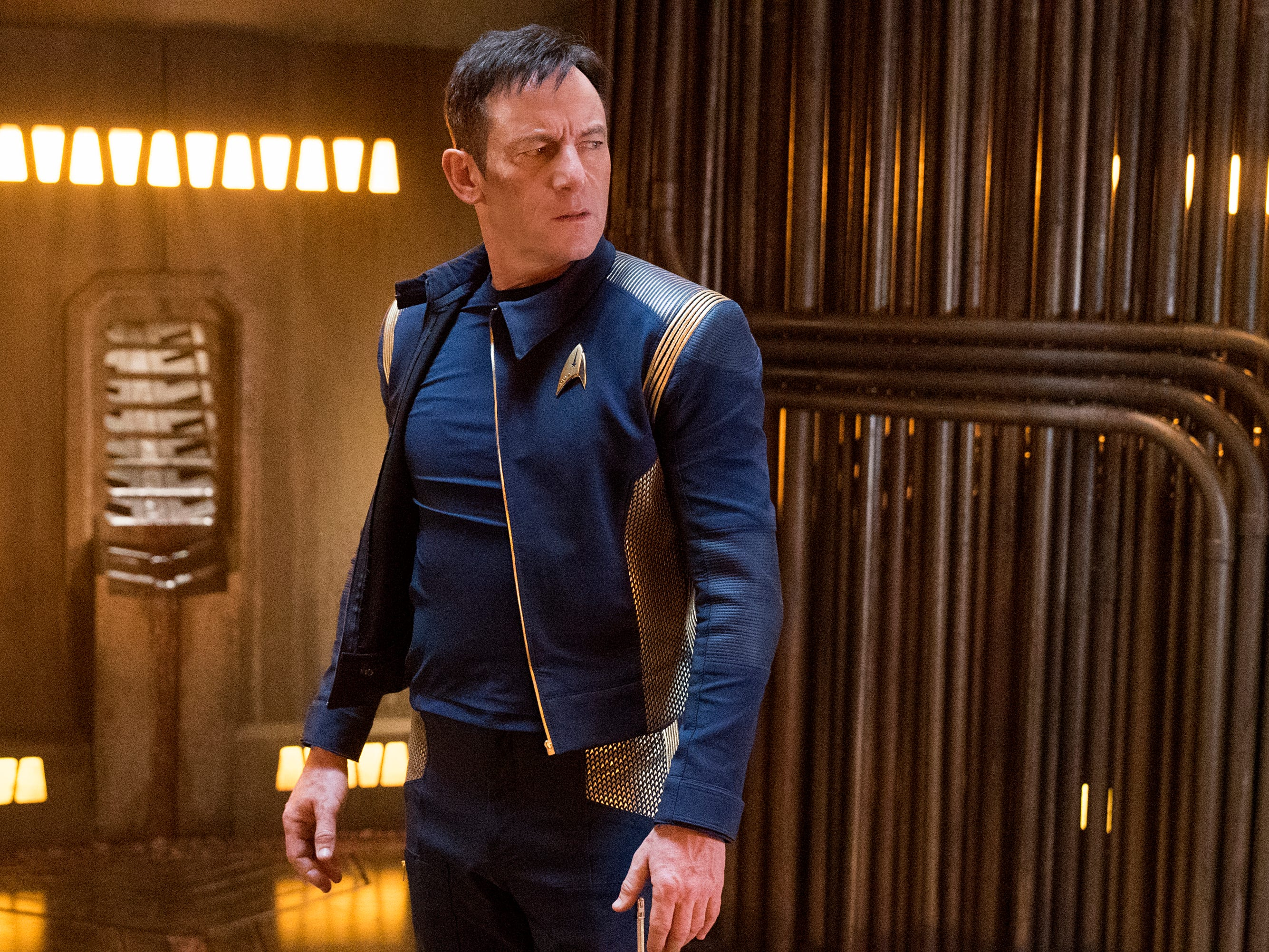 """Isaacs recently starred as Captain Gabriel Lorca in the CBS All Access series """"Star Trek: Discovery."""""""