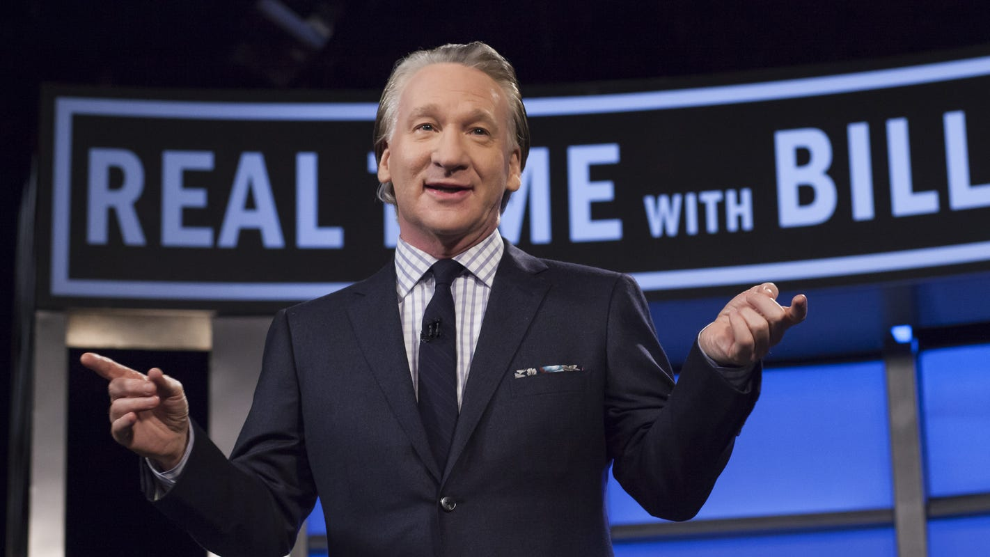 Bill Maher gets candid about David Koch's death: 'I'm glad he's dead'