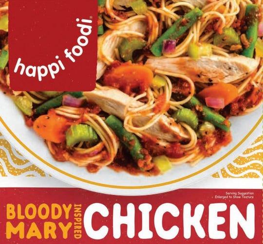 happi foodi Bloody Mary Inspired Chicken.