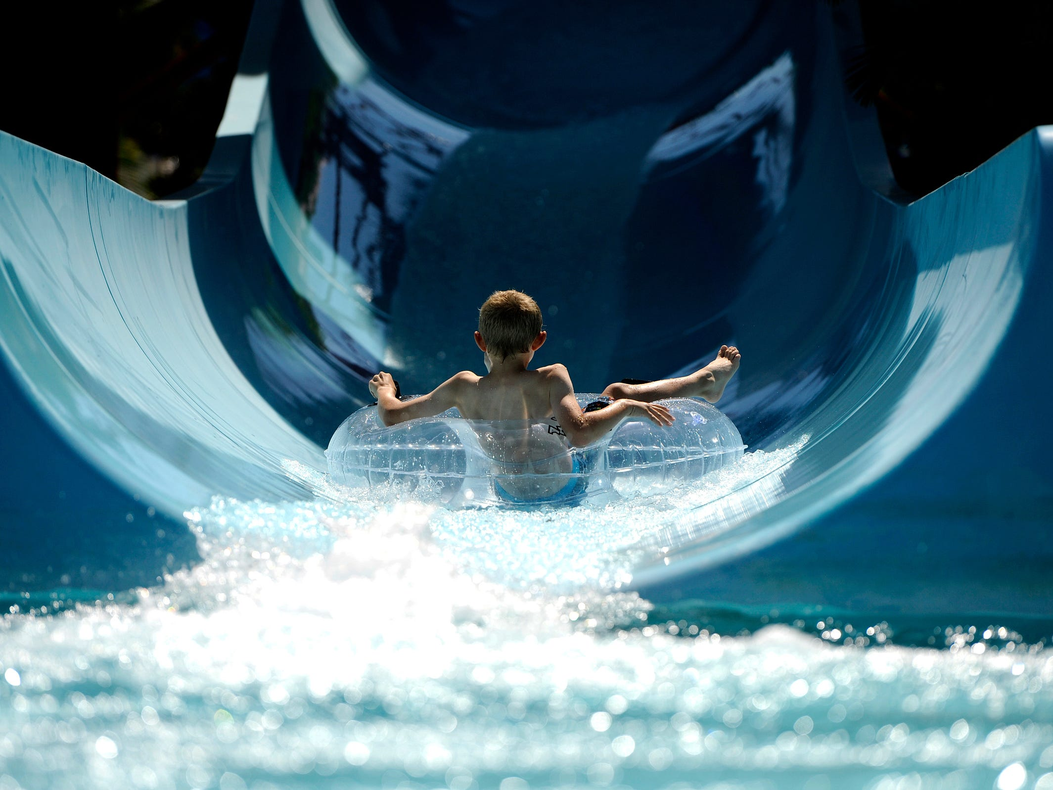 Open seasonally, Legoland Florida's water park features a wave pool, five water slides and the opportunity for guests to build their own Lego rafts.