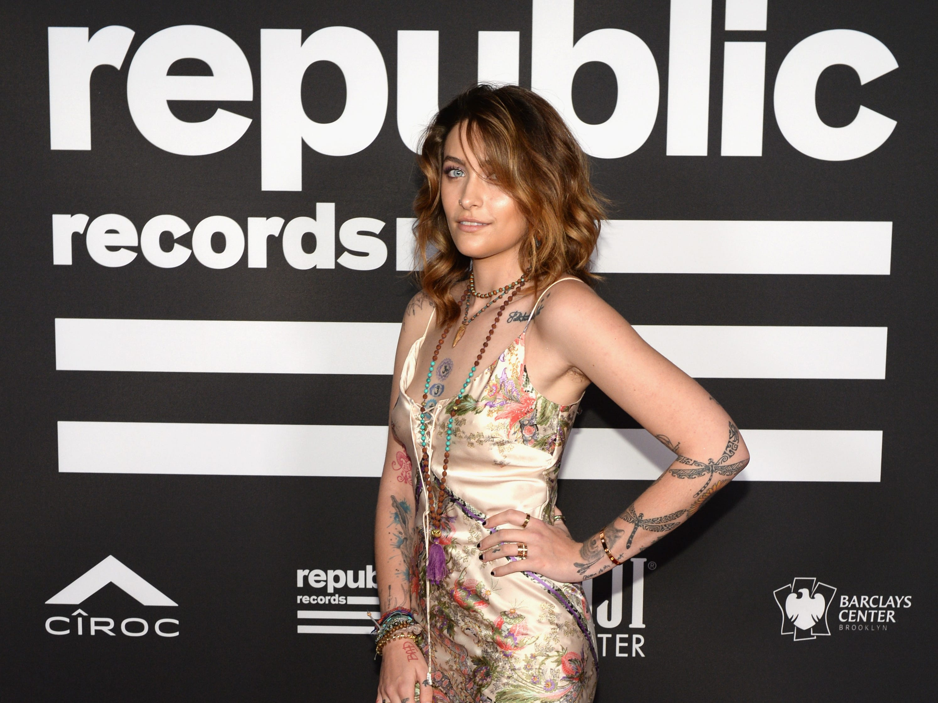 Paris Jackson at the Republic Records Grammy after party on Feb. 10, 2019 in Beverly Hills, Calif.