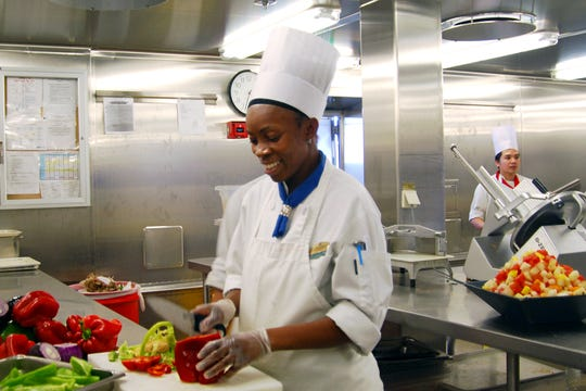 Cruise staff prepare quality dishes that would cost a pretty penny in a top-end restaurant - but the food still pales compared with meals you can get in port, lovingly prepared with local recipes.
