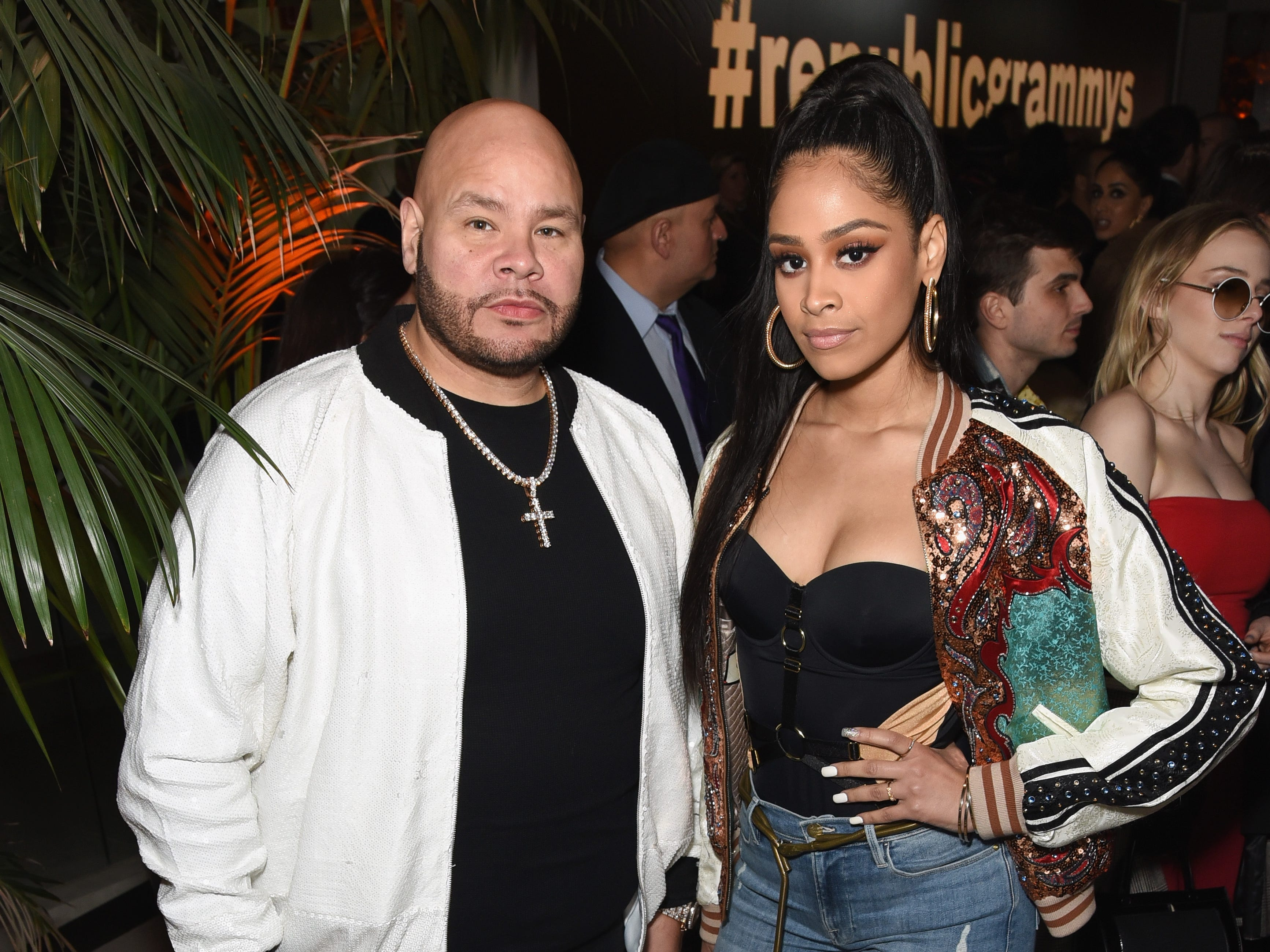 Fat Joe and Lorena Cartagena during Republic Records Grammy after party on Feb. 10, 2019 in Beverly Hills, Calif.