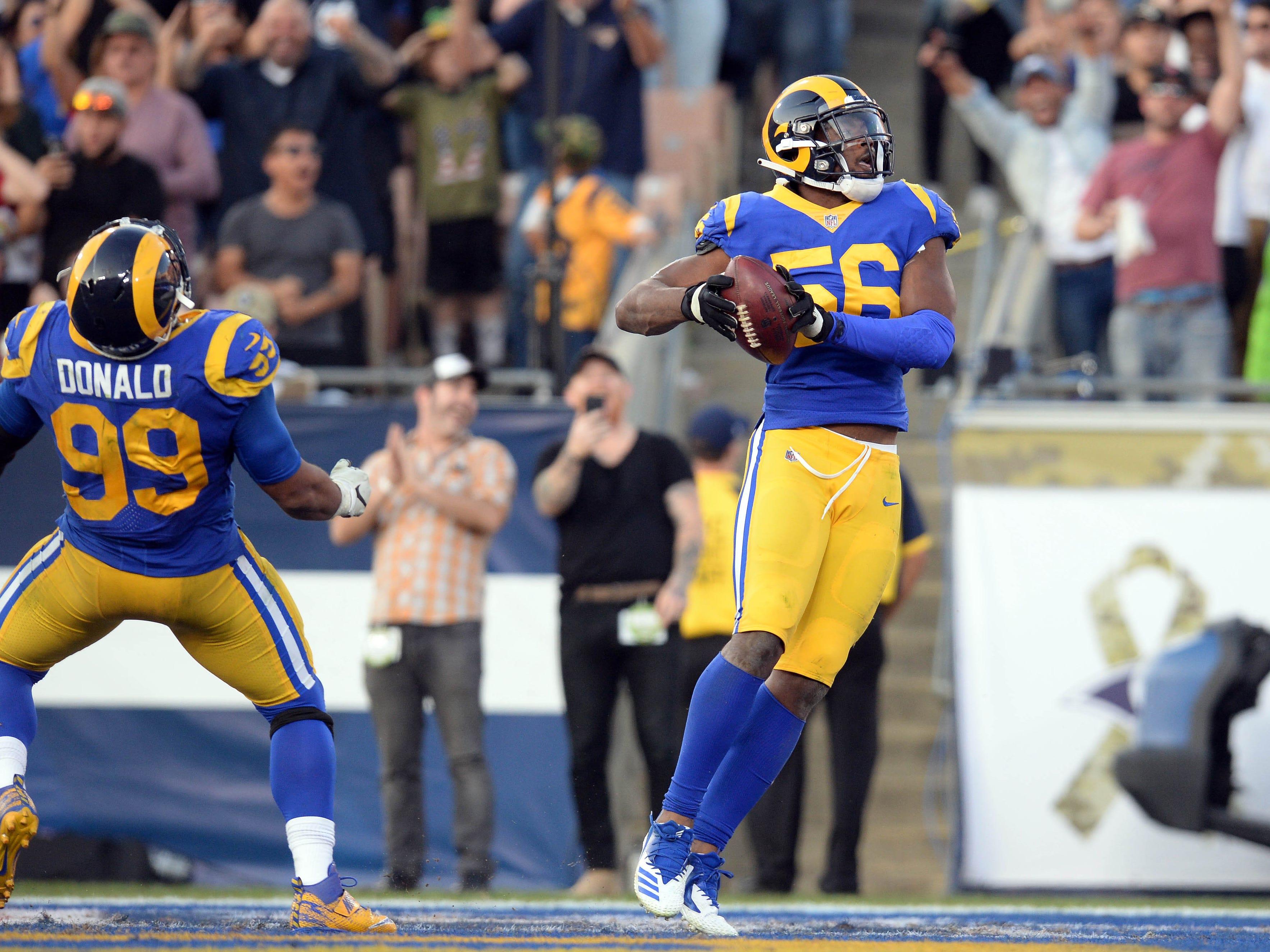NR: Dante Fowler, OLB, Rams
